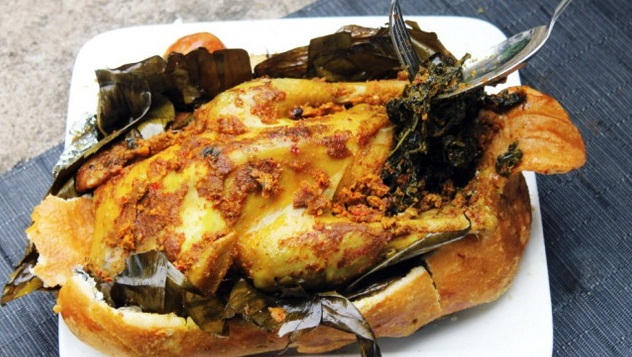 Makanan Khas Bali Ayam Betutu Jelajah Indonesia